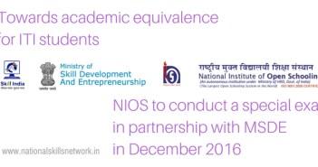 NIOS exam for ITI students