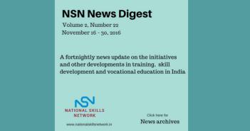 Skill Development News Digest - 011216