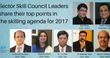 sector skill councils plan 2017