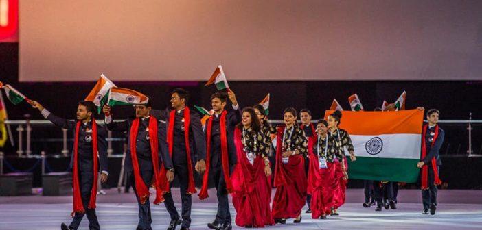 Skill India team at World Skills 2017