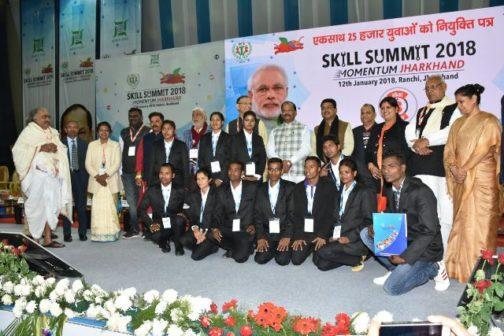 Skill summit 2018 Jharkhand job offers