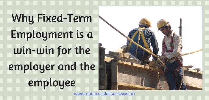 Fixed term employment
