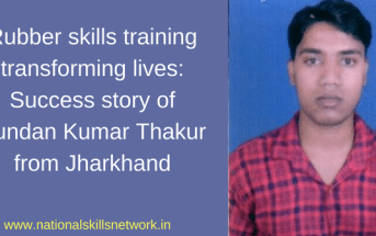 Rubber skills training transforming lives