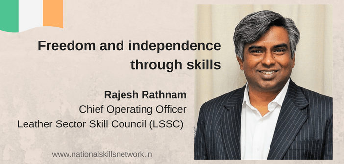 Rajesh Rathnam Independence through skills