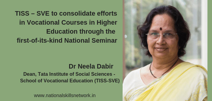 TISS SVE Vocational Seminar Neela Dabir