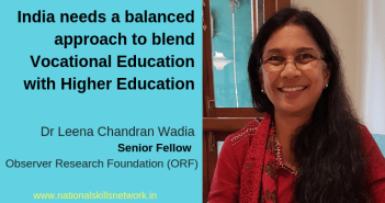 Vocational Higher Education Leena Wadia ORF