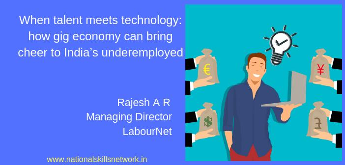 Gig economy India Rajesh A R