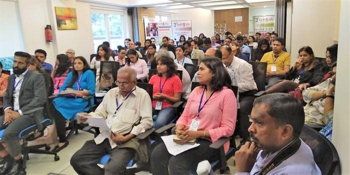 Packed crowd - Corporate Meet, Mumbai