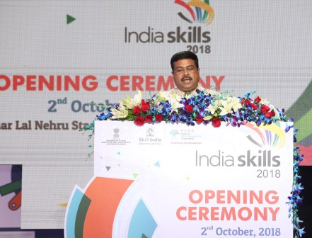 Shri Dharmendra Pradhan, Minister of Petroleum & Natural Gas and Ministe...