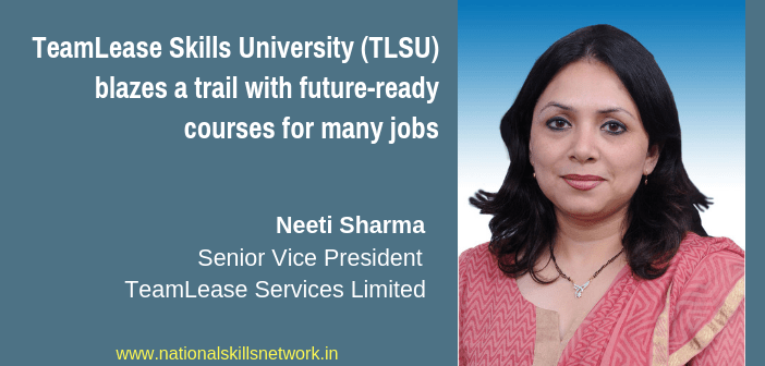 TeamLease Skills University (TLSU)