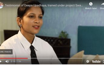 IL&FS video testimonials of candidates