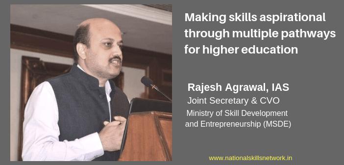 Making skills aspirational through multiple pathways for higher education
