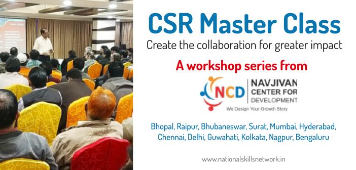 CSR Master Class Workshops from Navjivan Center for Development