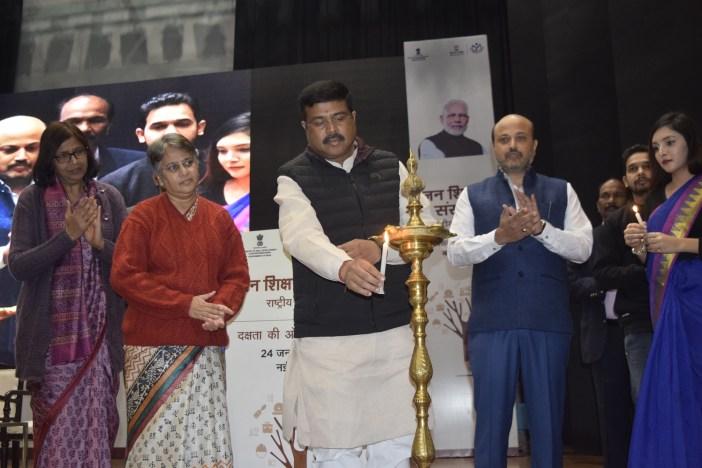 Jan Shikshan Sansthan (JSSs) Mr. Dharmendra Pradhan