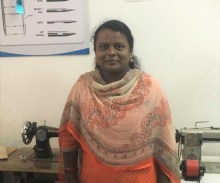 lalitha LabourNet trainee