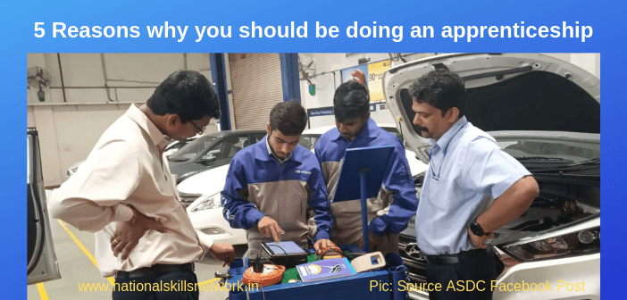5 Reasons why you should be doing an apprenticeship