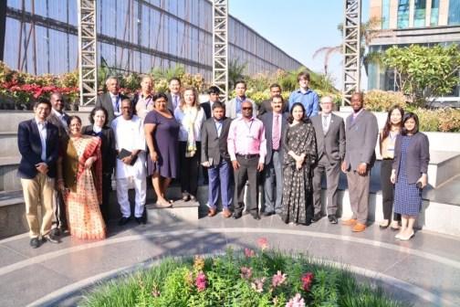 NSDC UNEVOC workshop participants