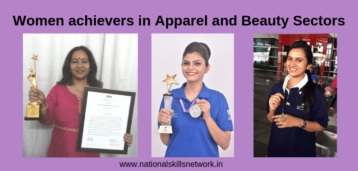 women in apparel and beauty sector