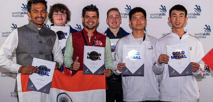 India wins 4 medals in Australia's Global Skills Challenge competition held in Melbourne