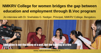 NMKRV College for women B.Voc Program