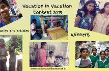 Vocation in Vacation Contest 2019 stories and articles