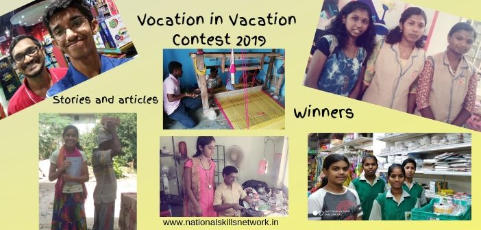 Vocation in Vacation Contest 2019 – Articles and Stories
