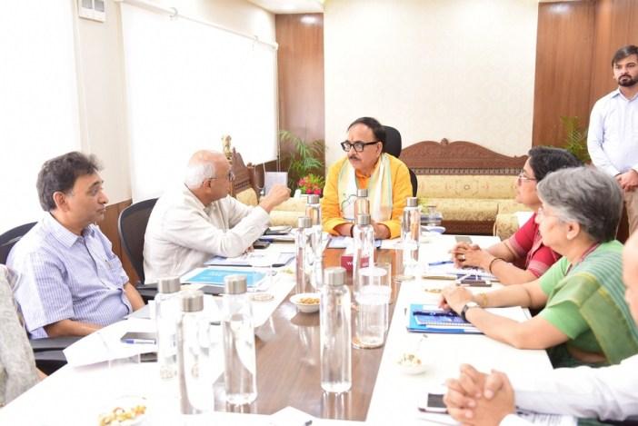 Dr Mahendra Nath Pandey Cabinet Minister Skill DevelopmentJPG