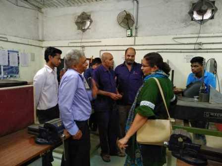 ITI Anand Principal visits Rhino Machines