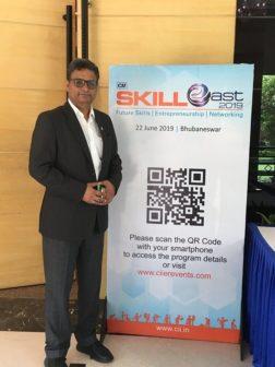 Pradeep Purohit Star Cement CII skill east 2019
