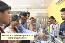 Siemens Scholarship Program 2019