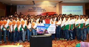 team_india_send_off_ceremony_for_worldskills_kazan_2019