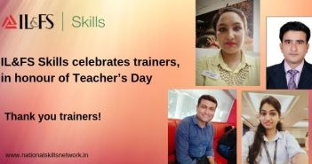 IL&FS Skills celebrates trainers, in honour of Teacher's Day