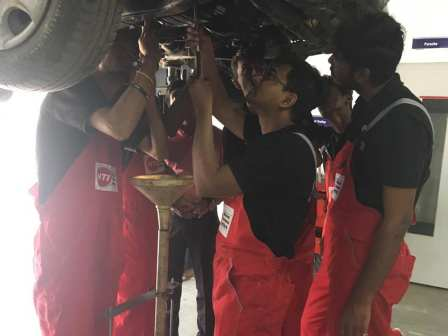 Automotive service skills NTI SkillSource
