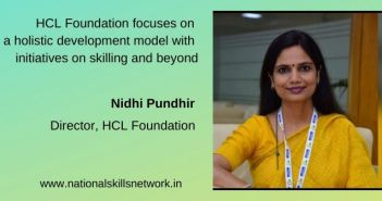 HCL Foundation focuses on a holistic development model with initiatives on skilling and beyond