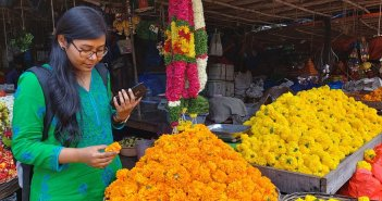 Informal businesses like selling flowers and diyas look forward to Diwali, but...