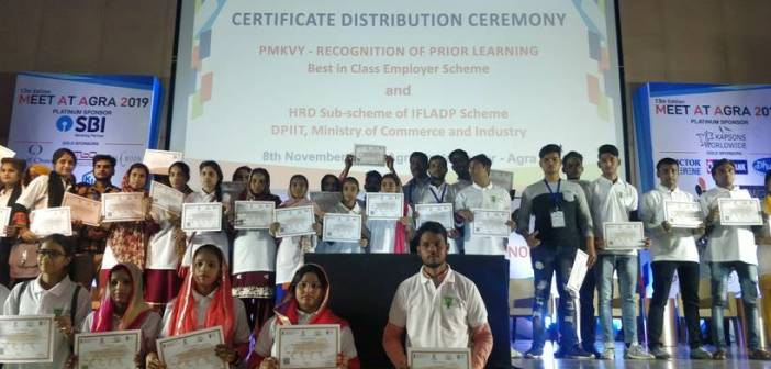Skill India certifies 500 candidates under RPL for skilling in footwear manufacturing in Agra