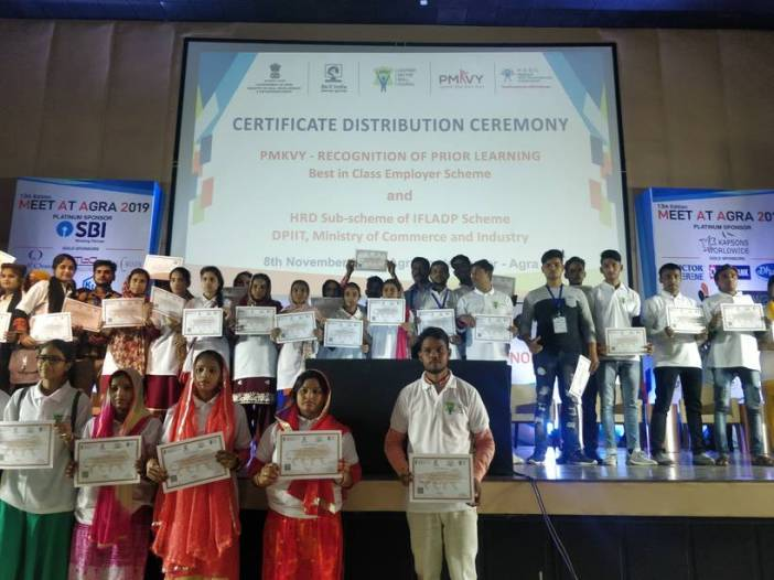 skill_india_certifies_500_candidates_under_rpl_for_skilling_in_footwear_manufacturing in Agra
