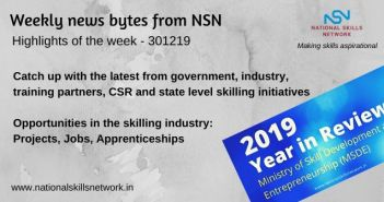 News Bytes on Skill Development and Vocational Training – 301219