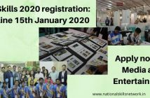 IndiaSkills 2020 registration Media and Entertainment