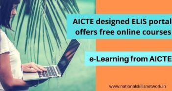 AICTE ELIS Portal offers free online courses