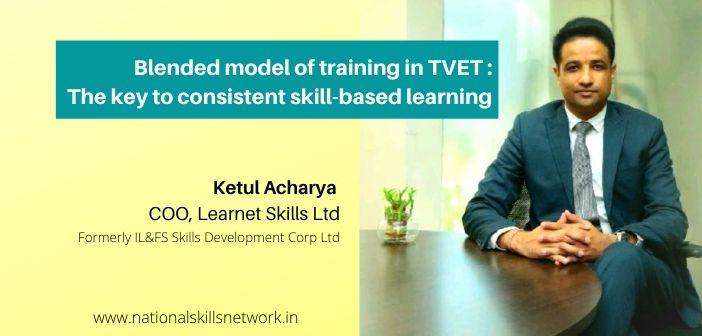 Blended model of training in TVET