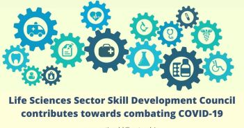 Life Sciences Sector Skill Development Council contributes towards combating COVID-19