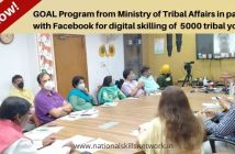 GOAL Program from Ministry of Tribal Affairs in partnership with Facebook for digital skilling of 5000 tribal youth