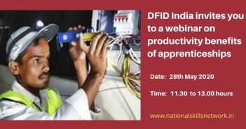 Webinar on productivity benefits of apprenticeships