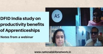 DFID India study on Productivity Benefits of Apprenticeship