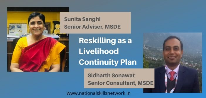 Reskilling as a livelihood continuity plan