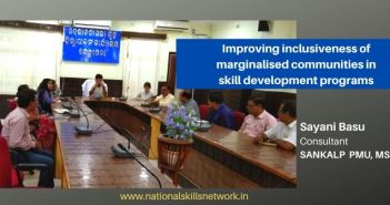 Improving inclusiveness of marginalised communities in skill development programs