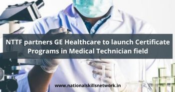 NTTF partners GE Healthcare