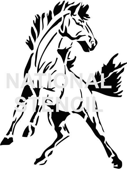 School Mascot & Logo Stencils