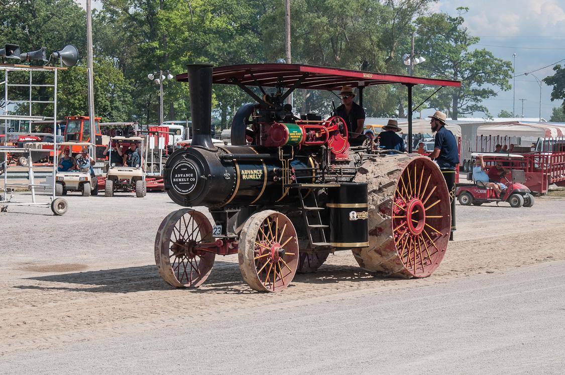 Advance Rumely Steam Engine